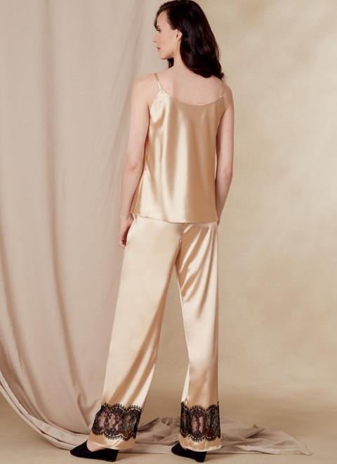 Vogue Patterns V1834 | Misses' and Misses' Petite Robe, Belt, Camisole, Slip, Shorts and Pants