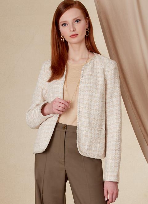 Vogue Patterns V1830 | Misses' Jacket and Pants
