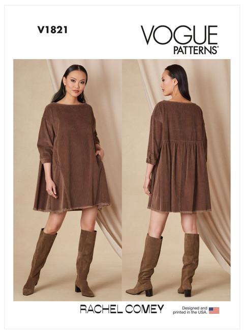 Vogue Patterns V1821 | Misses' Dress