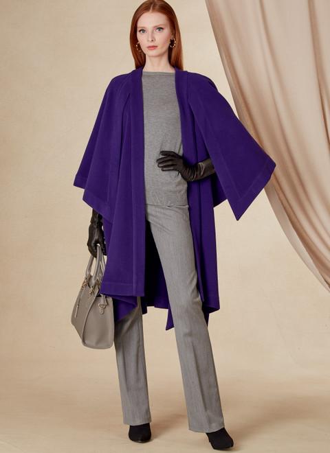 Vogue Patterns V1818   Misses' Cape