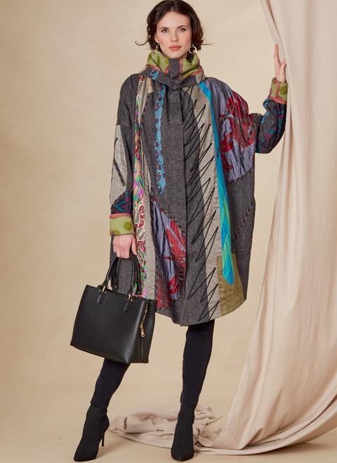 Vogue Patterns V1816 | Misses' Reversible Coat