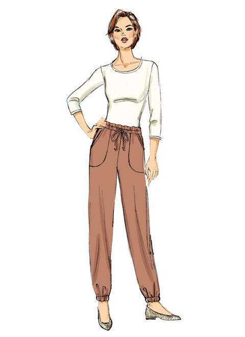 Butterick B6865 | Misses' Pants