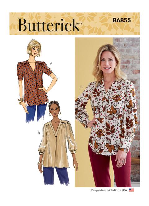 Butterick B6855 | Misses' Top