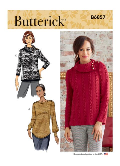 Butterick B6857 | Misses' Top