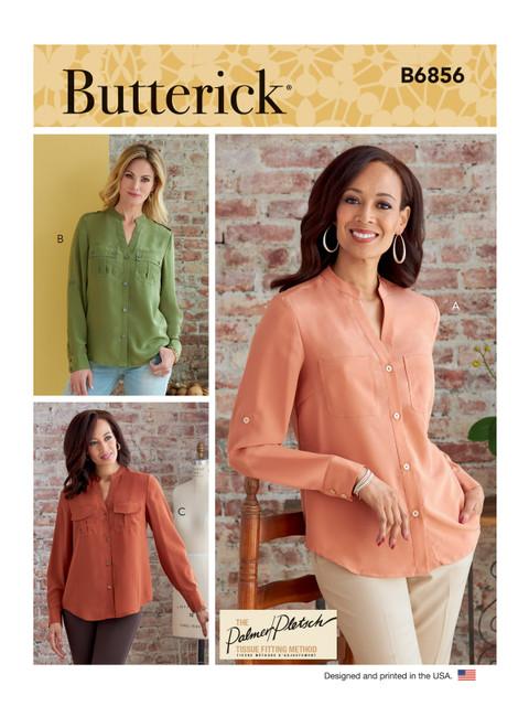 Butterick B6856 | Misses' Top