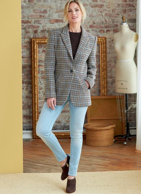 Butterick B6862 | Misses' Jacket