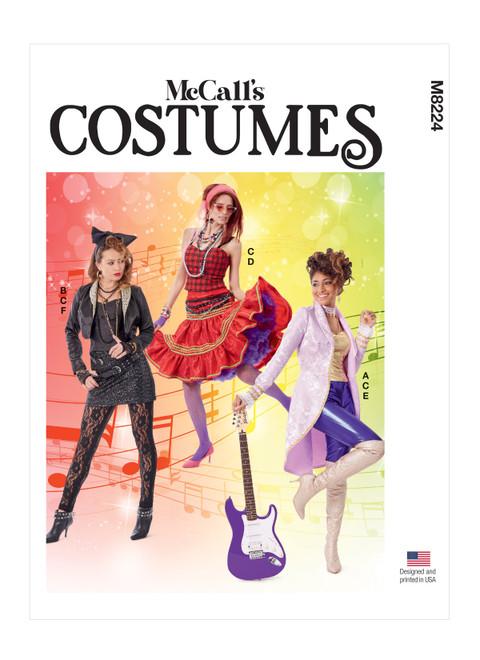 McCall's M8224 | Misses' Costumes