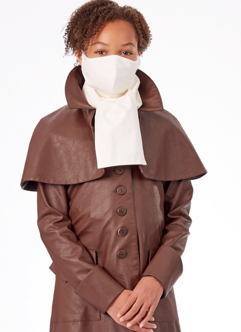 McCall's M8227 | Girls' and Boys' Costume Coats with Mask