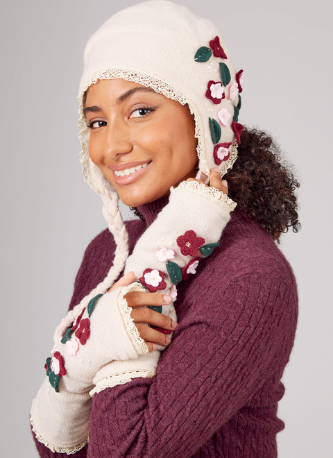 McCall's M8232   Misses' Knit Hats and Fingerless Gloves