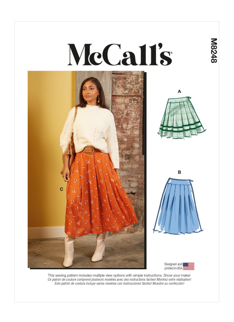 McCall's M8248 | Misses' Skirts