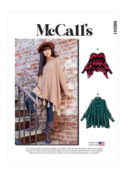 McCall's M8241 | Misses' Tops