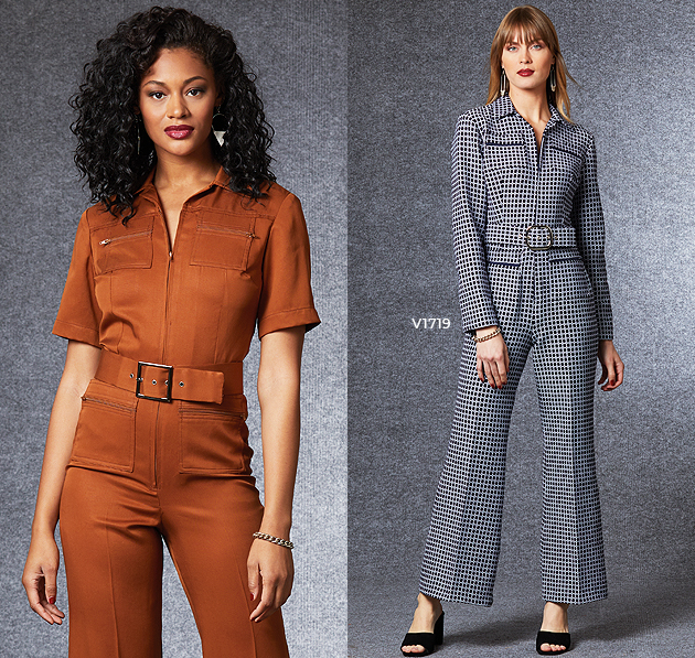 Vogue Patterns Fall Jumpsuits