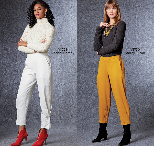 Vogue Patterns Fall Pants
