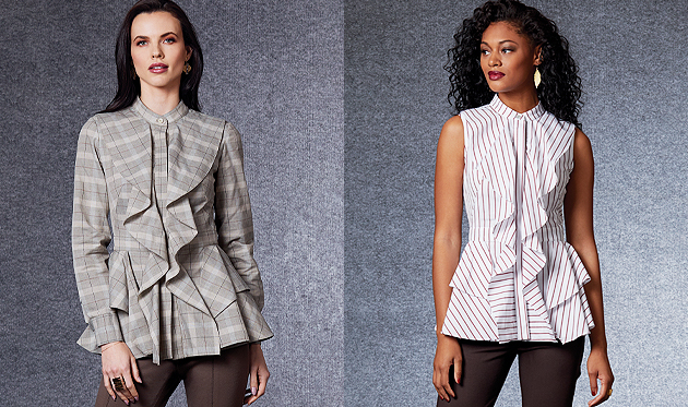 Vogue Patterns Fall Tops