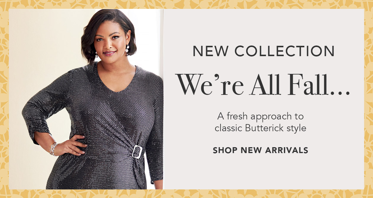 Butterick Fall Collection Sewing Patterns