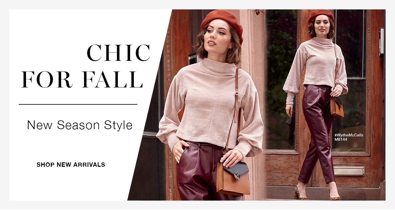 McCall's Fall Collection
