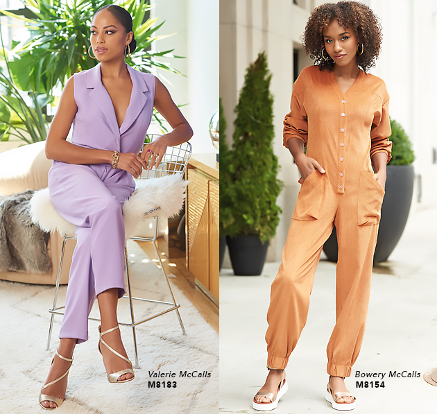 2101 McCall's Jumpsuits