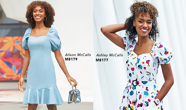 2101 McCall's Sweet Heart Dresses