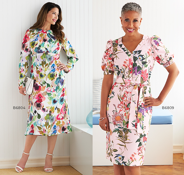 2102 Butterick Day Dresses