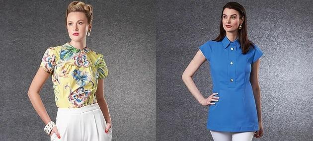 2104 Vogue Patterns Tops