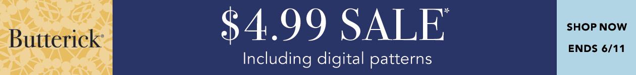 $4.99 Sale* Including digital patterns