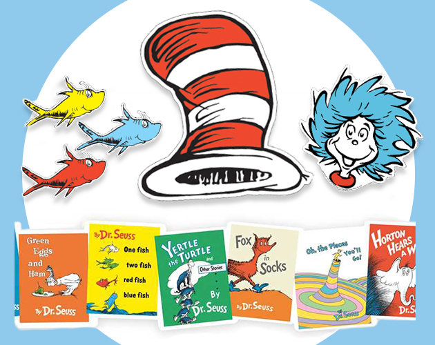Image of Dr. Seuss classroom products