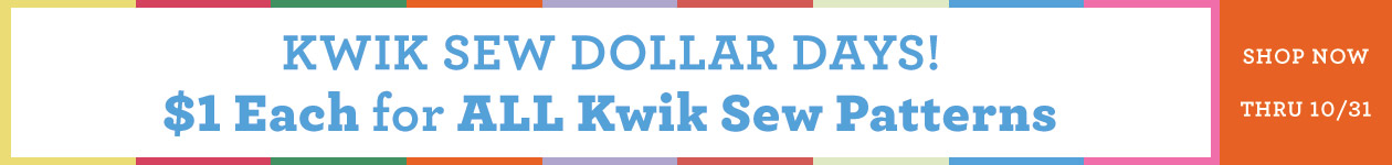 $1 Each for ALL Kwik Sew Patterns
