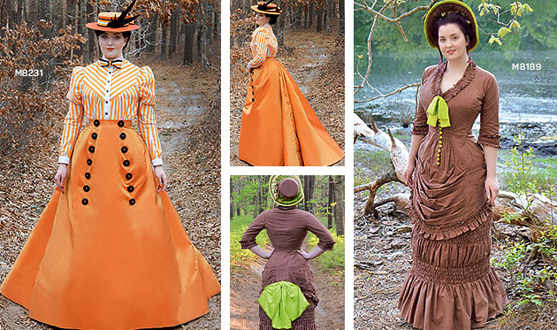 Explore Angela Clayton 1800s-inspired costume patterns