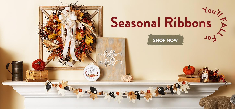 Offray Seasonal Ribbons You'll Fall For