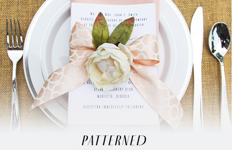 Patterned Invite Inspiration
