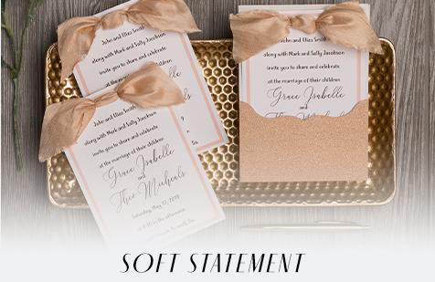 Soft Statement Invite Inspiration