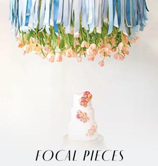 Focal Pieces Wedding Décor