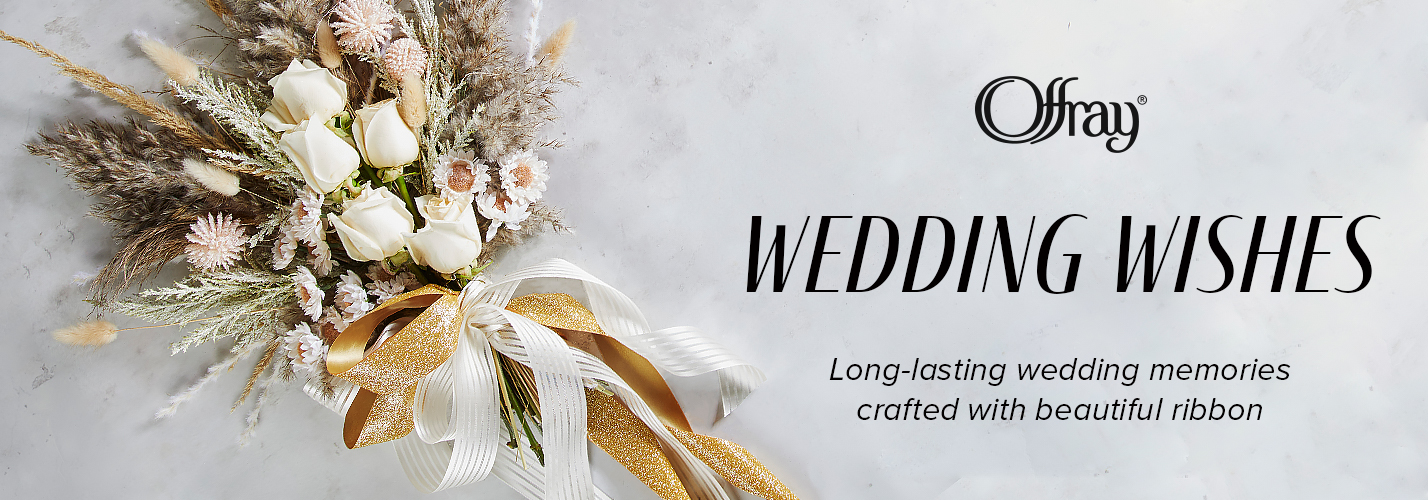 Offray Wedding Wishes