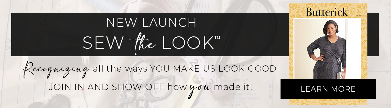 Introducing Sew the Look! A showcase for makers.