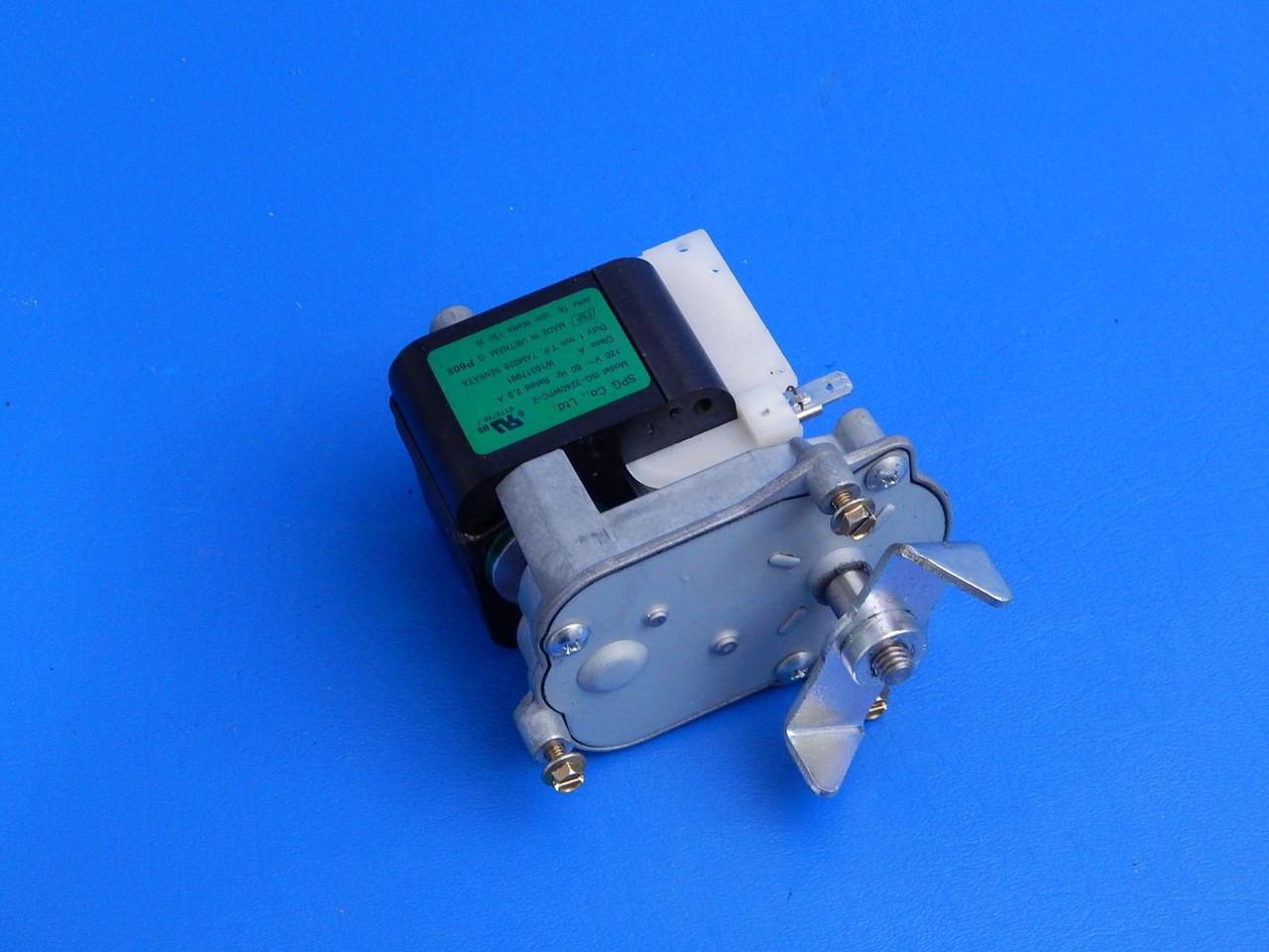 Whirlpool SxSide Refrigerator ED5PVEXWS06 Ice Dispenser Auger Motor  W10317991
