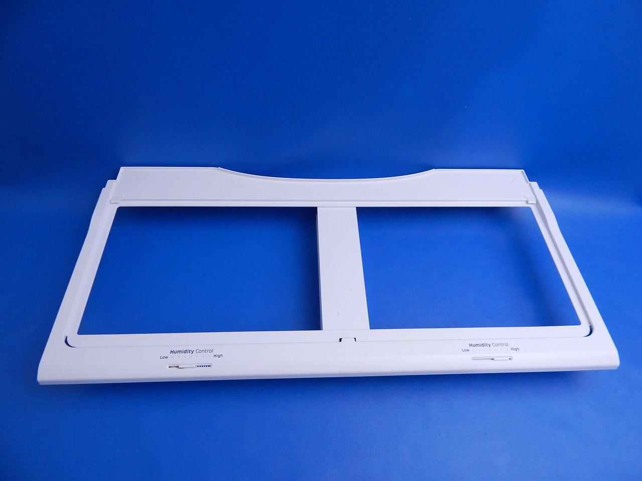 Samsung Bottom Mount Refrigerator RF23HCEDTSR Crisper Cover Frame Only