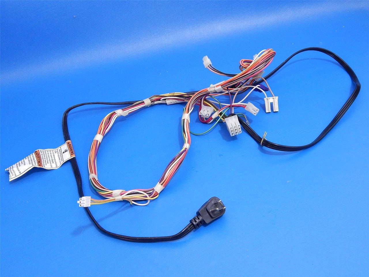 whirlpool sxside refrigerator gs5shaxsl00 wall plug main wire harness  2187947 - ice cold beer & appliance parts