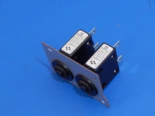 Konica Minolta Bizhub 600 Copier 20 Amp Circuit Breakers A-0701HC 20