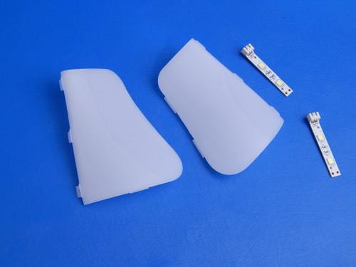 Samsung Side by Side Refrigerator RS265TDRS Crisper LED Lights DA41-00519X