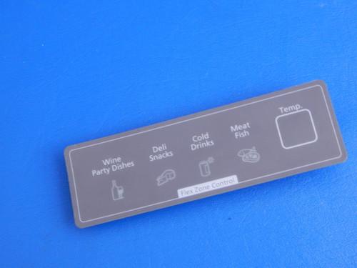 Samsung Bottom Mount Refrigerator RF4267HARS Flexzone Control Board DA97-10605B