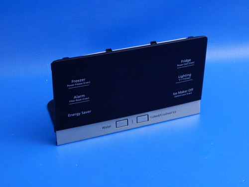 Samsung 3 Door Refrigerator RF28HFEDTSR Dispenser Control Panel DA92-00597A