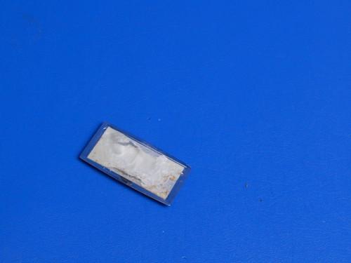LG Bottom Mount Refrigerator LRBC22522 WW Nameplate Emblem 3846JD1007F