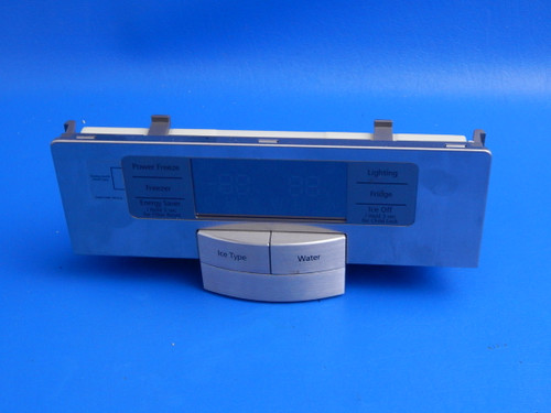 Samsung Side/Side Refrigerator RSG257AARS Dispenser Control Panel DA97-06477N