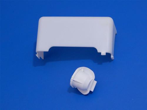 Kenmore Coldspot SxSide Refrigerator 10652582201 Freezer Light Cover & Socket