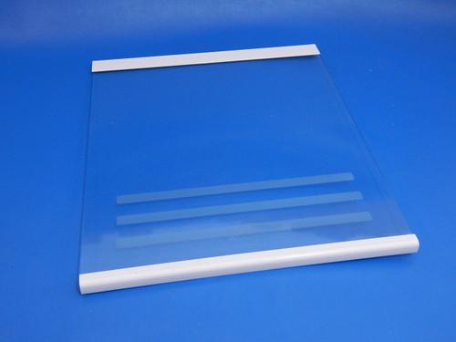 Frigidaire SxSide Refrigerator FRS20ZRGW8 Upper Crisper Glass Cover 218390586