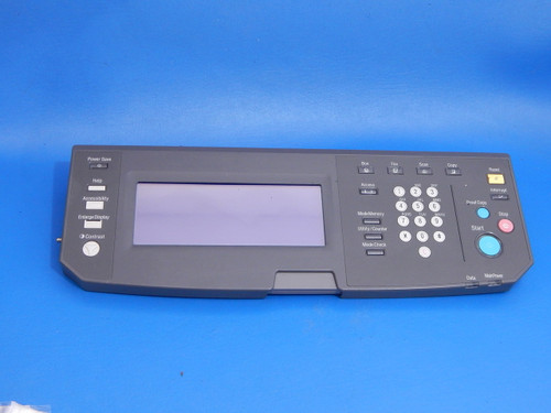 Konica Minolta Bizhub 600 750 Copier Touch Screen Control Panel Keypad