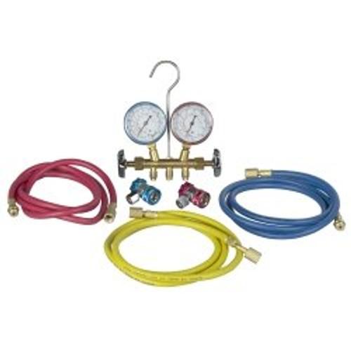 Robinair-Actron A/C Manifold Gauge Set - CP7806