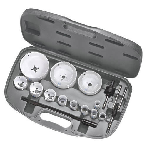 IDEAL 19 PC ELECTRICIAN'S HOLE SAW KIT - 35-518