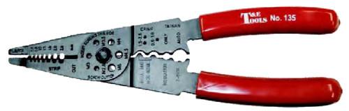 T&E Tools USA Wire Crimper and Stripper - TE135