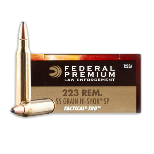 Federal .223 55GR Soft Point - T223A